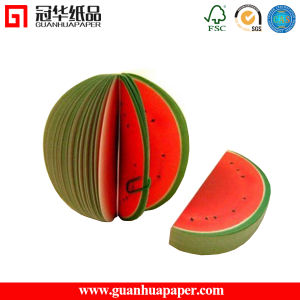 Hot Selling Customized Promotional Fruit Memo Pad pictures & photos