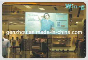 Holoprojection Screen Rear Film for Vivid Window Display Light Grey Color