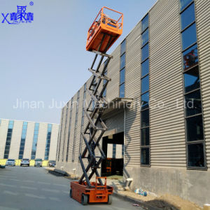 Adjustable Self Propelled Scissor Lift with Extended Platform pictures & photos