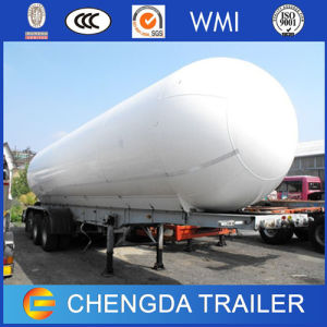 China Manufacturer 52.6cbm 3 Axles LNG Tank Trailer for Sale pictures & photos