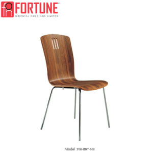 Top Selling Modern Wood Cheap Restaurant Chairs With Stainless Legs  (FOH XM47 508)