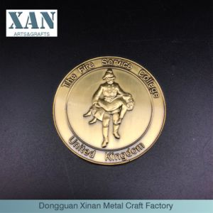 a Souvenir Coin From Britain′s Custom Zinc Alloy University