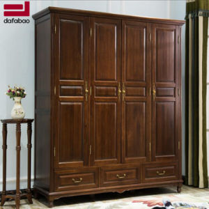 cheap for discount 06043 edb89 Fashion Bedroom Furniture Solid Wood Wardrobe (AS842)