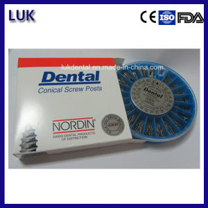 High Quality Endodontic Treatment Stainless Steel Dental Screw Post pictures & photos