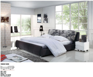 Leather Bed, Sofa Bed, Beds, Bedding (2626#)