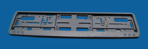 Europe License Plate Frame (LF8045P-B)