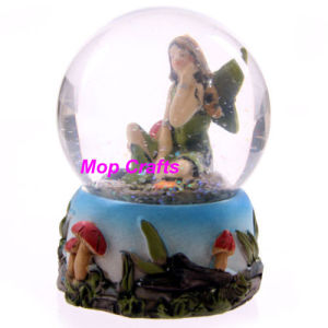 Resin Customized Crafts of Fairy Snow Globe pictures & photos
