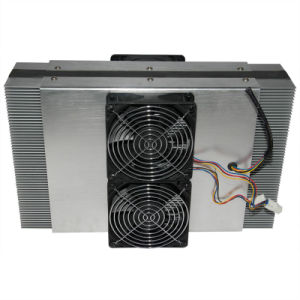 250W Air to Air Thermoelectric Cooling Engine for 24/48V DC Telecom Device Cooling