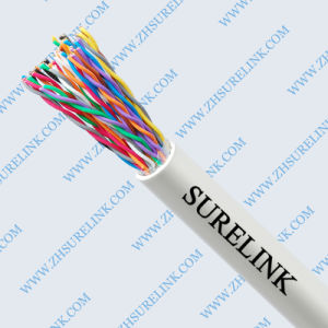 High Quality 24AWG Copper Indoor Telephone Cable pictures & photos