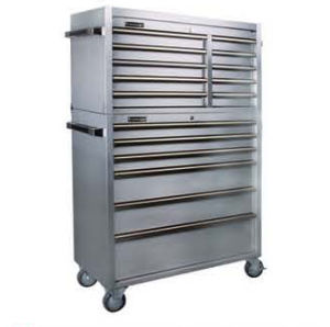 Stainless Tool Cabinet Box (TBT4310A-S+TBR4306B-S)