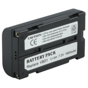 Digital Camera Battery (VBD1 7.2V 1800mAh) for Panasonic
