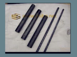 Black and Polished High Purity Tungsten Rods pictures & photos
