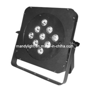 Stage Lighting/LED 9bulbs Full-Color 3-in-1, 4-in-1 or 5-in-1 Square Flat PAR Light (MD-C011)