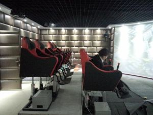 5D Electric Platform with 2 Seats Dynamic Cinema