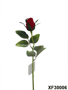 Artificial/Plastic/Silk Flower Single Stem of Rose (XF30006) pictures & photos