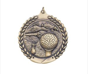 2′′ 3D Embossed Torch Sports Medal pictures & photos