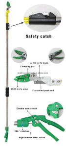 ′ilot 4 Meter Telescopic Pole Prune Tree Pruning Long Reach Pruner pictures & photos