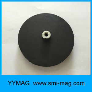 Heavy Duty Permanent Magnets with Rubber Coated pictures & photos