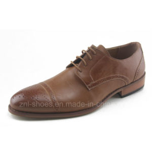 Men′s Business Dress Shoes in Good Quality (HDS-R04)