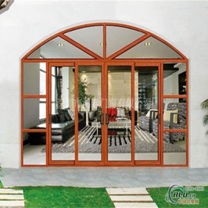china arch aluminium window frame design glass grill design window