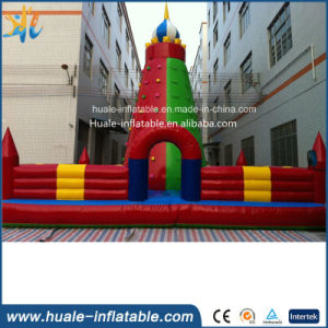 China Custom Inflatable Rock Climbing, Inflatable Climbing Wall, Inflatable Obstacle Games for Kids