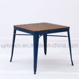 China Wholesale Metal Restaurant Table With Wooden Table Top SP - Wholesale table tops