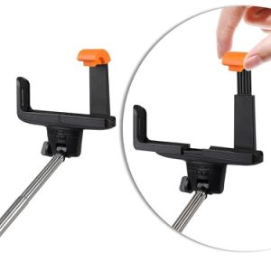 Extendable Selfie Stick with Built-in Bluetooth Remote Shutter pictures & photos