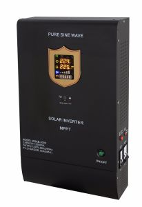 3500W Solar Inverter with 60A MPPT Solar Charge Controller