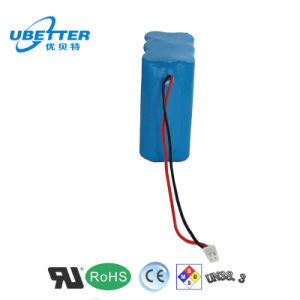 Rechargeable 18650 11.1V 2200mAh Lithium Ion Battery pictures & photos