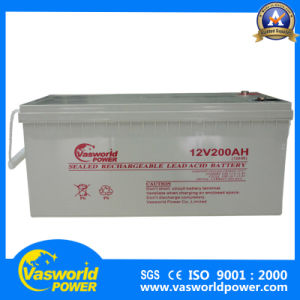 AGM Sealed 12V200ah Lead Acid Battery with High Quality pictures & photos