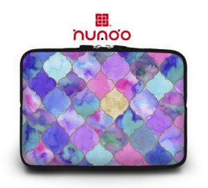 "Geometrical Pattern Laptop Sleeve Ladies Notebook Bag for 7"" 11"" 12"" 15"" 13"" Mac pictures & photos"