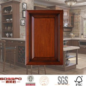 High Quality Solid Wood Kitchen Cabient Door Fronts (GSP5-015) pictures & photos