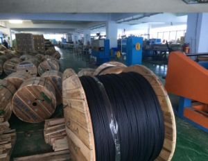 Figure 8 Outdoor Loose Tube Fiber Optic Cable with Steel Member, Jelly Filled Self-Support GYTC8S pictures & photos