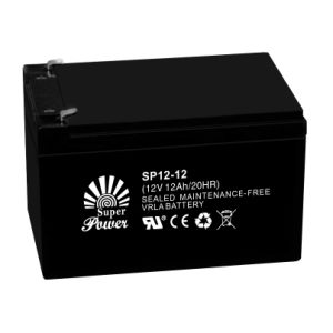 Solar Battery 12V 4ah-12V 200ah with CE and UL Certificated pictures & photos