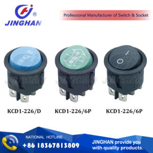 Kcd1-226 China Supplier Switch Dpdt Boat Rocker Switch T85 pictures & photos