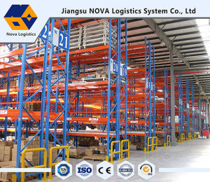 Heavy Duty Blue Fram and Orange Beam Pallet Rack pictures & photos