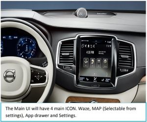 China Volvo Interface for Xc90, S90, Xc60 etc  with 9