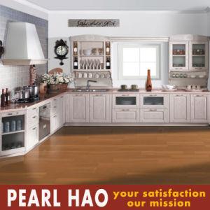 European Style MDF Solid Wood Kitchen Furniture