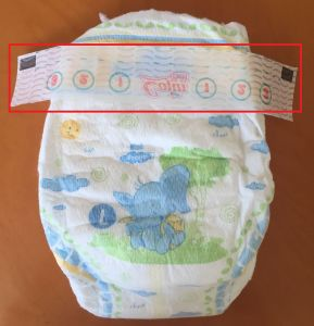 Nonwoven Frontal Tape/Printed Nonwoven Frontal Tape/Customized Baby Daiper Frontal Tape pictures & photos