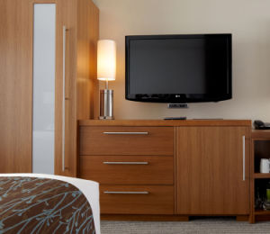 Modern Hotel Bedroom Set / Wooden Motel Hotel Furniture pictures & photos