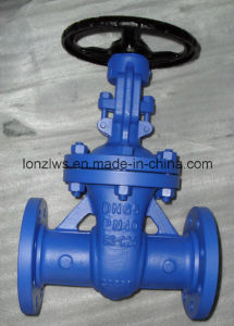 DIN Standard Cast Steel Gate Valve pictures & photos