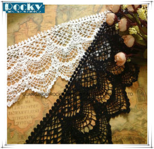13cm Width Cotton Lace Trim Embroidered Wedding Lace