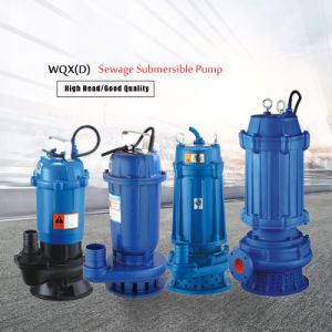 10HP High Head WQX Sewage Submersible Water Pump pictures & photos
