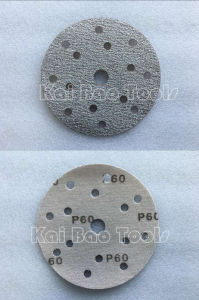 White Aluminium Oxide Disc Sand Paper pictures & photos