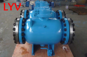 Worm Gear Fully Welded Ball Valve