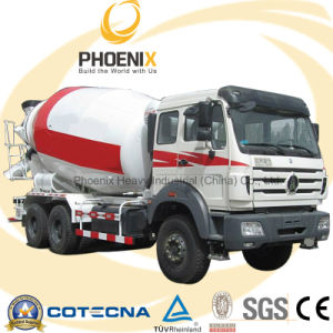 6X4 340HP Northbenz Ng80 Beiben 8m3 Concrete Mixer Truck pictures & photos
