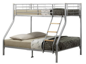China Triple Sleeper Metal Bunk Bed Fm 301 China Bed School Bed
