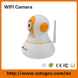 PTZ Wireless IP Camera Mini Indoor 720p Home WiFi IP Camera with TF/Micro SD Memory Card