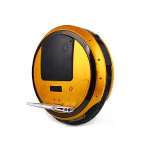 16 Inch Self Balancing Electric Unicycle with Bluetooth Cool Lights pictures & photos