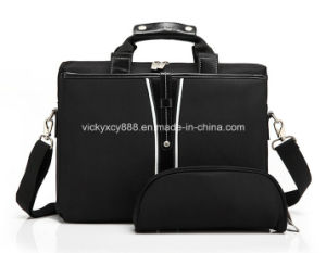 15.6 Inch Single Shoulder Business Travel Portfolio Bag Briefcase (CY6108) pictures & photos